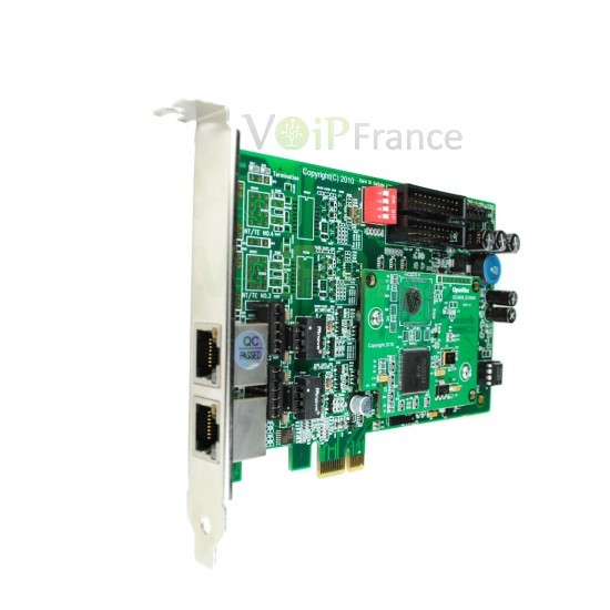 2 Port ISDN BRI PCI-E card + EC4004 module BE200P