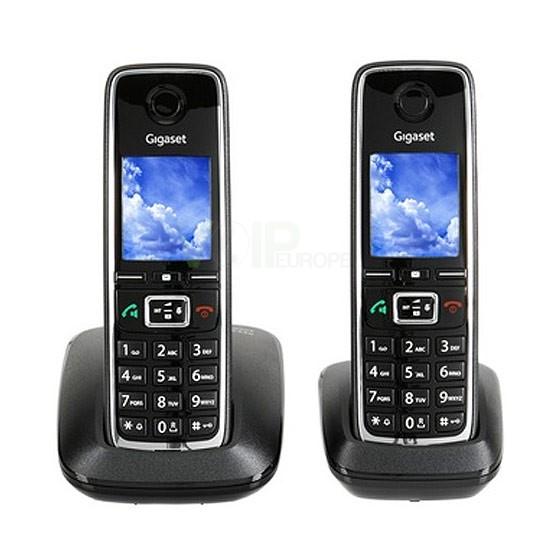4250366834023 t l phone sans fil 2 combin s gigaset c530. Black Bedroom Furniture Sets. Home Design Ideas